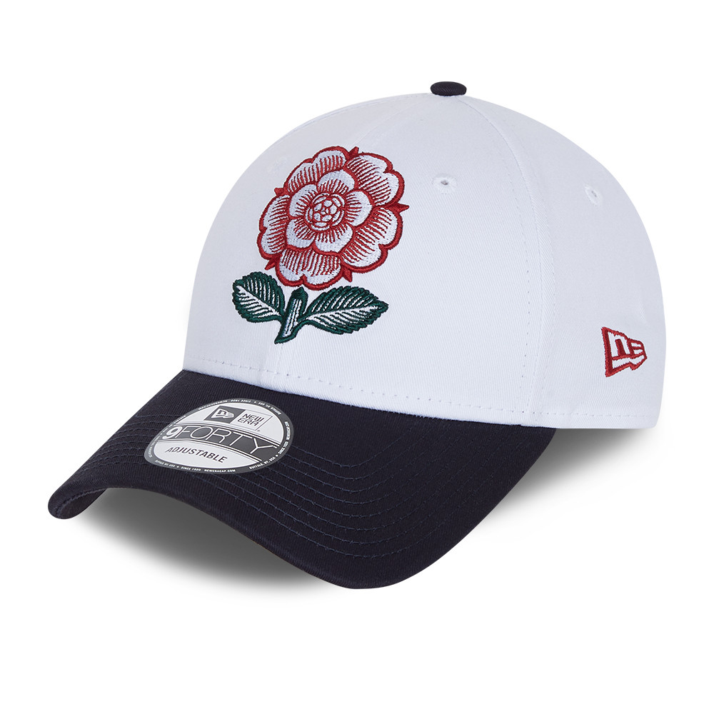 Gorra England Rugby Heritage 9FORTY, blanco