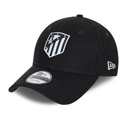Cappellino 9FORTY Diamond Era Atletico Madrid nero tono su tono
