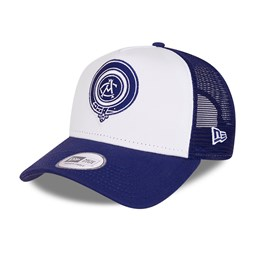 Atletico Madrid Cotton Blue A-Frame Trucker Cap