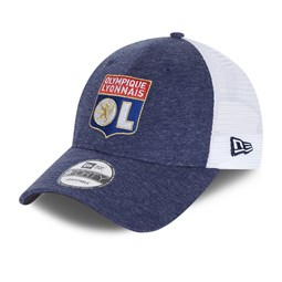 Casquette trucker 9FORTY Olympique Lyon jersey bleue