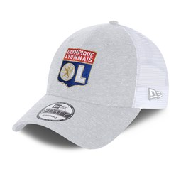 Casquette trucker 9FORTY Olympique Lyon jersey grise