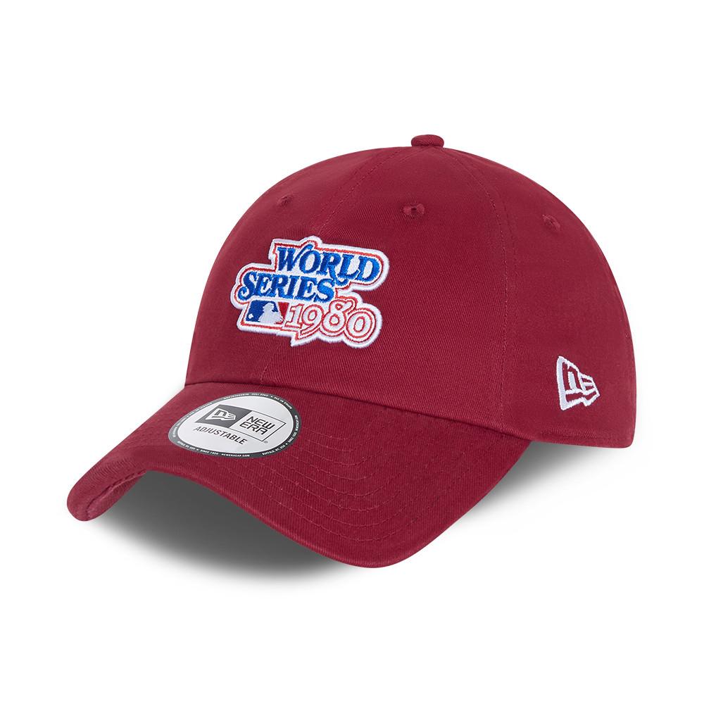 Casquette classique décontractée rouge Philadelphia Phillies World Series