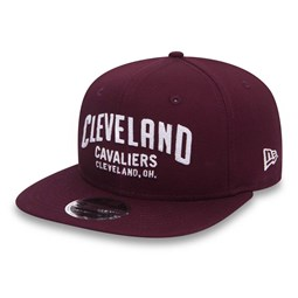 9FIFTY Snapback – Felt Script OF – Cleveland Cavaliers – Kastanienbraun