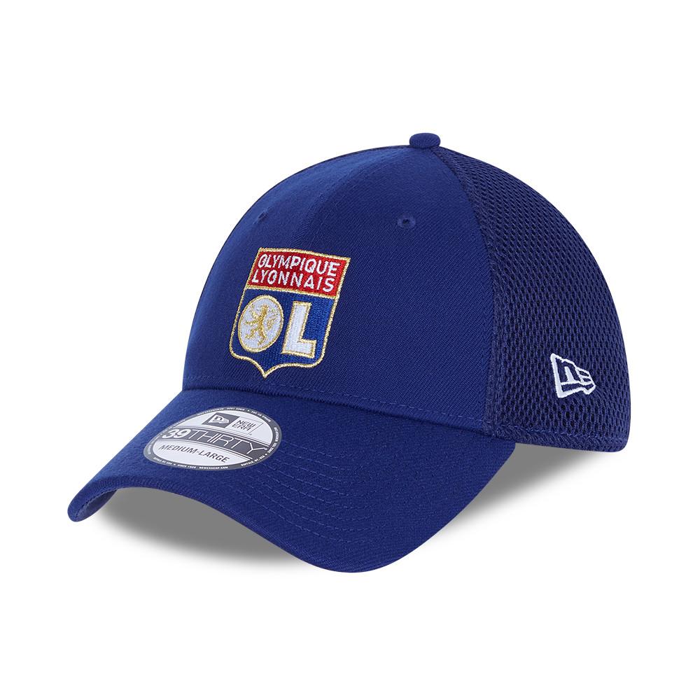 Cappellino 39THIRTY Rear Mesh Olympique Lione blu
