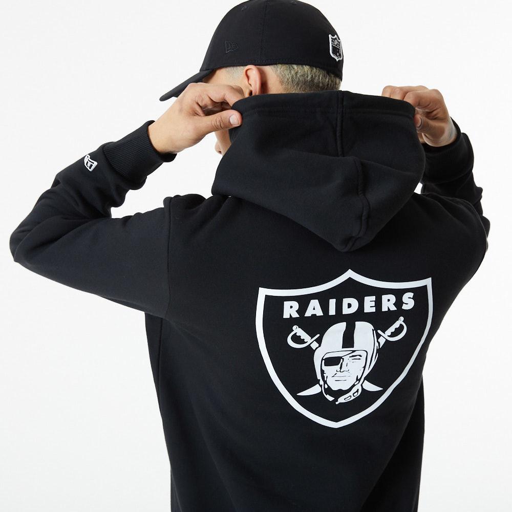 Sweat à capuche à logoLas Vegas Raiders noir