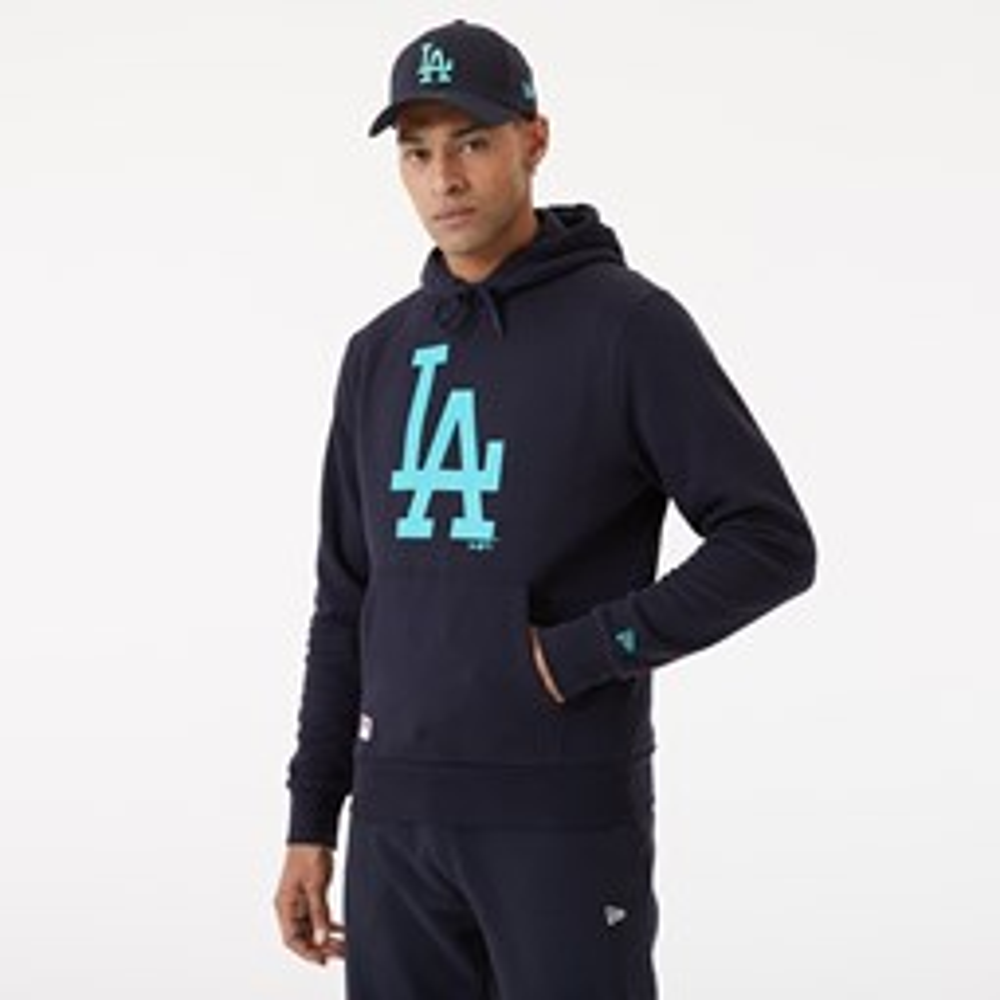 LA Dodgers – Hoodie in Marineblau mit Teamlogo