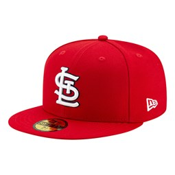 59FIFTY – St. Louis Cardinals – Authentic On Field Game – Kappe in Rot