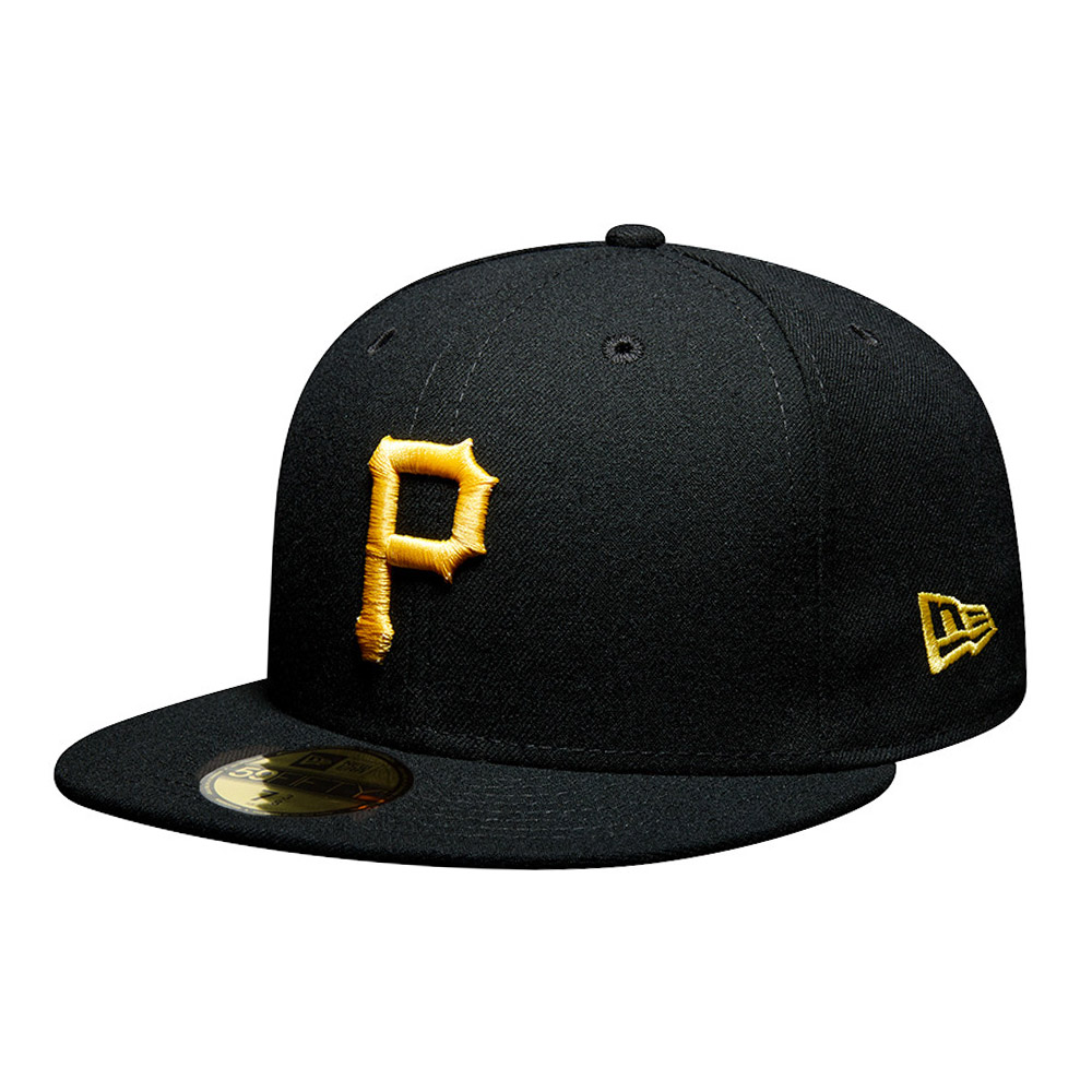59FIFTY – Pittsburgh Pirates – Authentic On Field Game – Kappe in Schwarz