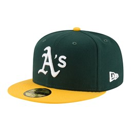 59FIFTY – Oakland Athletics – Authentic On Field Home – Kappe in Grün