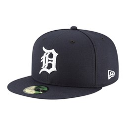 Casquette 59FIFTY Authentic On Field Home des Detroit Tigers, bleu marine