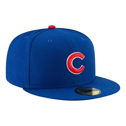 Chicago Cubs Authentic On Field Game Blue 59FIFTY Cap