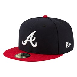 Atlanta Braves Authentic On Field Home Navy 59FIFTY Cap