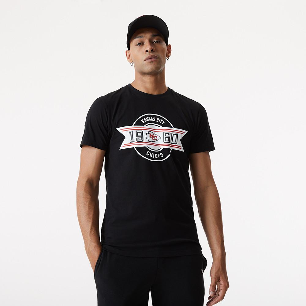 T-shirt Kansas City Chiefs Established nera