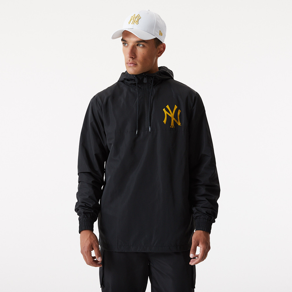 Giacca a vento Metallic New York Yankees nera