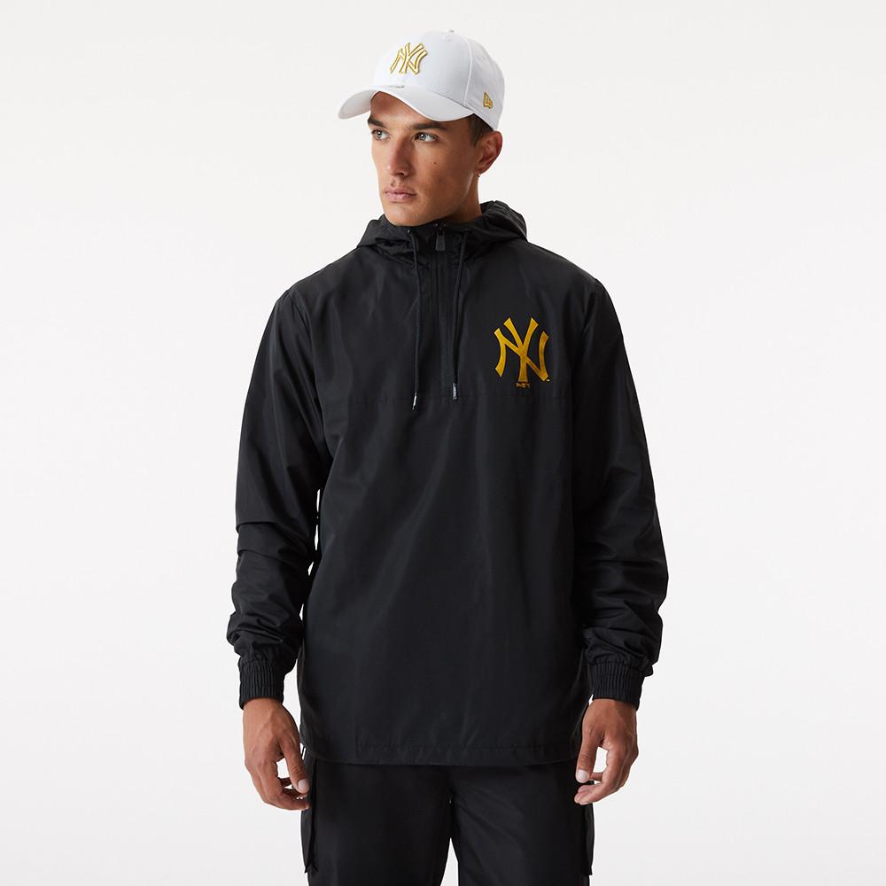 Giacca a vento Metallic New York Yankees nera