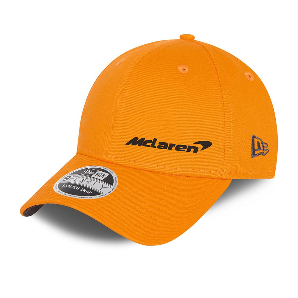 9FORTY – McLaren – F1 – Essential – Stretch-Snap-Kappe in Orange
