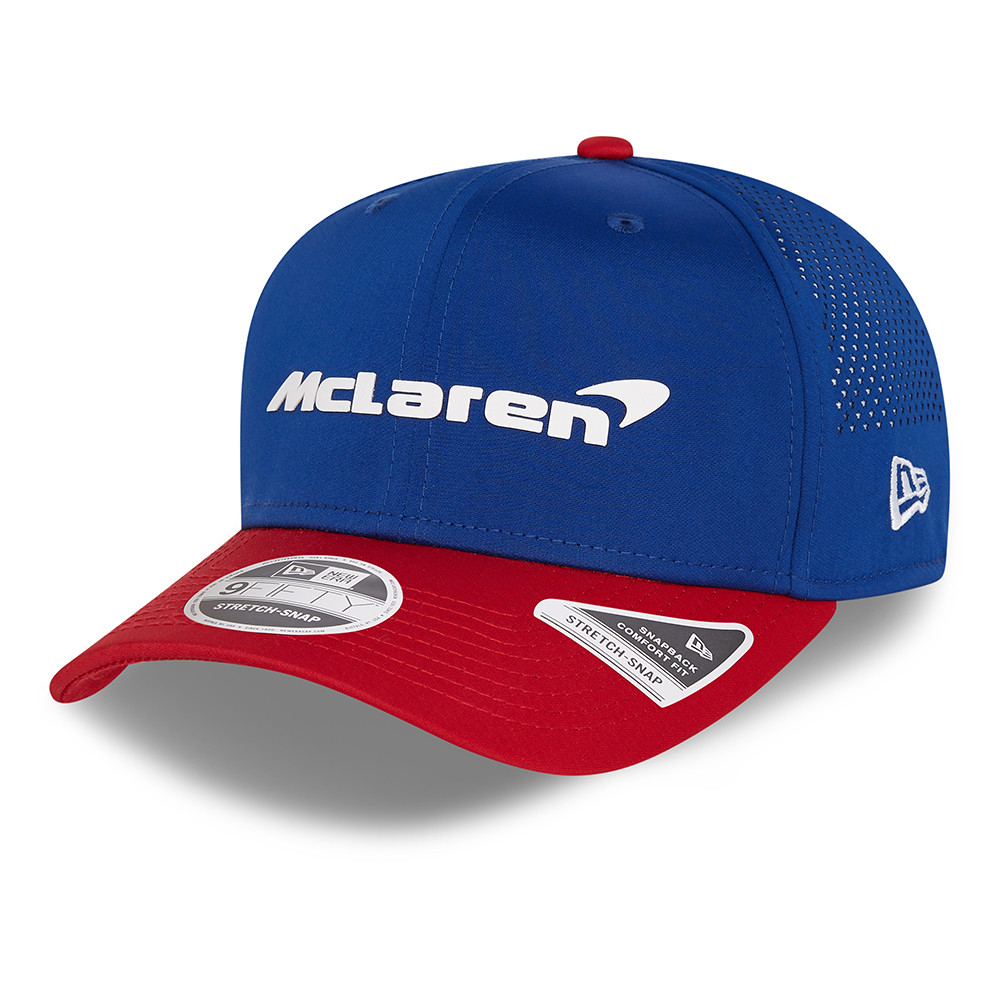 9FIFTY – McLaren – F1 – USA – Stretch-Snap-Kappe in Blau
