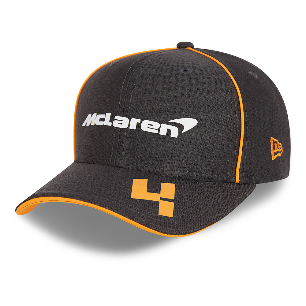 9FIFTY – McLaren – F1 – Lando Norris – Stretch-Snap-Kappe in Grau