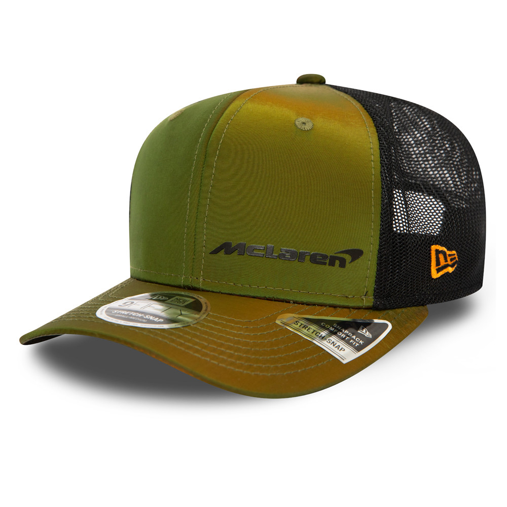 9FIFTY – McLaren – F1 – Hypertone – Stretch-Snap-Kappe in Grün
