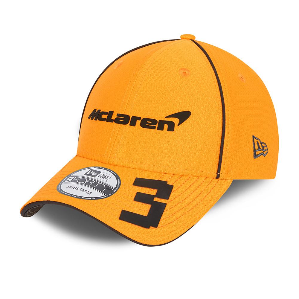Cappellino 9FORTY McLaren F1 Daniel Ricciardo arancione