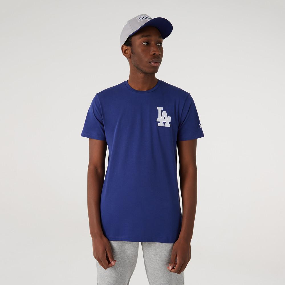 T-shirt logo à manches courtes de LA Dodgers, bleu
