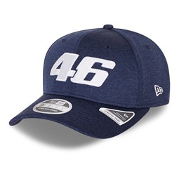Casquette 9FIFTY VR46 Core Shadow Tech Strech Snap, bleu