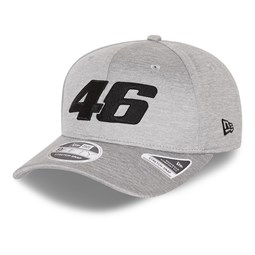 Cappellino con chiusura posteriore elasticizzato VR46 Core Shadow Tech Grey 9FIFTY