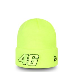 Bonnet à revers VR46 Core, jaune