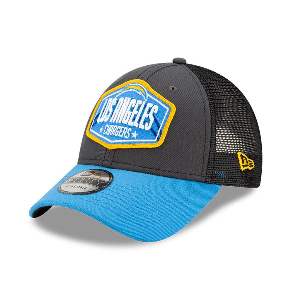 Casquette9FORTY NFLDraft des LA Chargers, gris