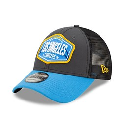 LA Chargers NFL Draft Grey 9FORTY Cap