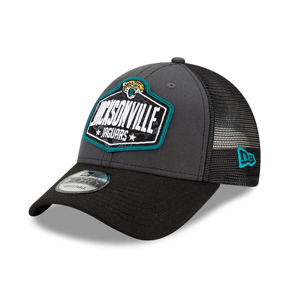 Cappellino 9FORTY NFL Draft Jacksonville Jaguars grigio