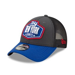 New York Giants NFL Draft Grey 9FORTY Cap