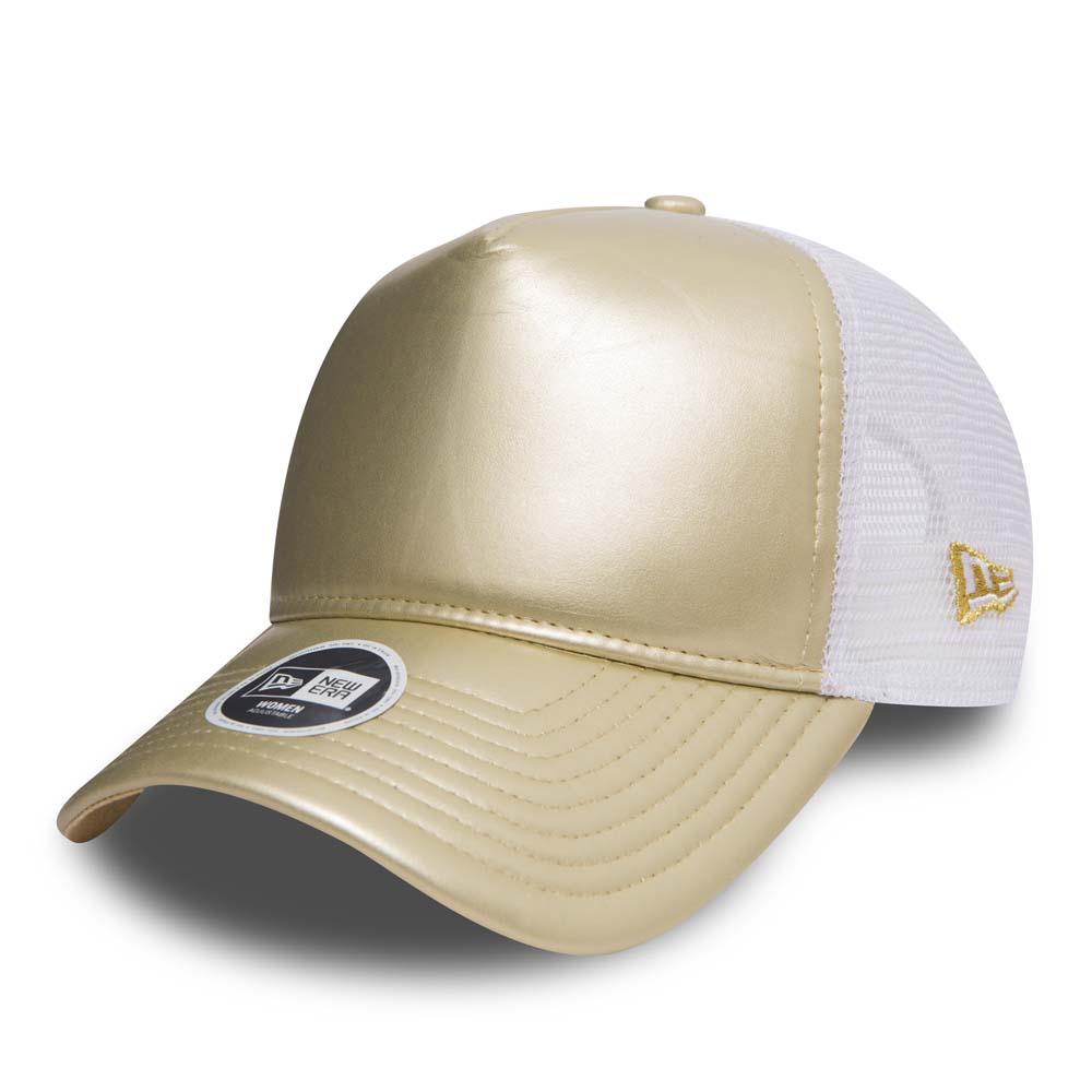 New Era – Trucker – Damen – Metallic-Gold