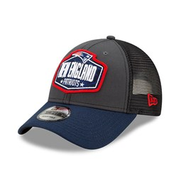 9FORTY – New England Patriots – NFL Draft – Kappe in Grau