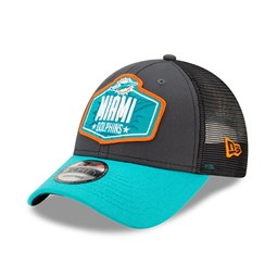 Miami Dolphins NFL Draft Grey 9FORTY Cap