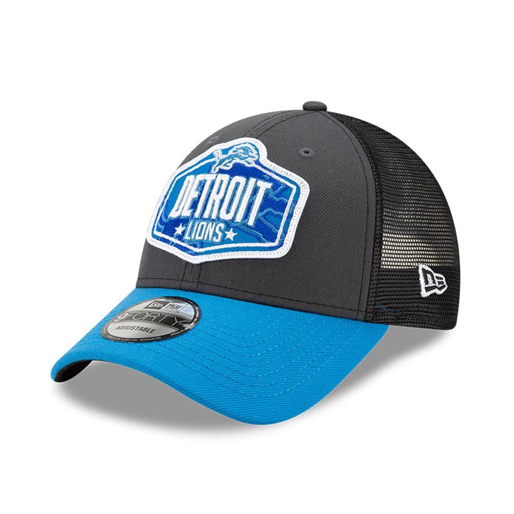 Casquette9FORTY NFLDraft des Detroit Lions, gris