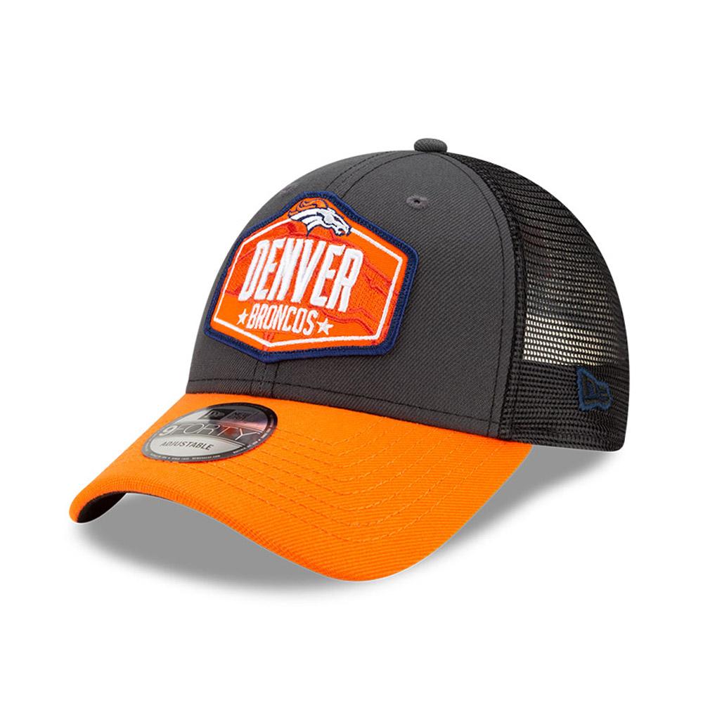 Casquette9FORTY NFLDraft des Denver Broncos, gris