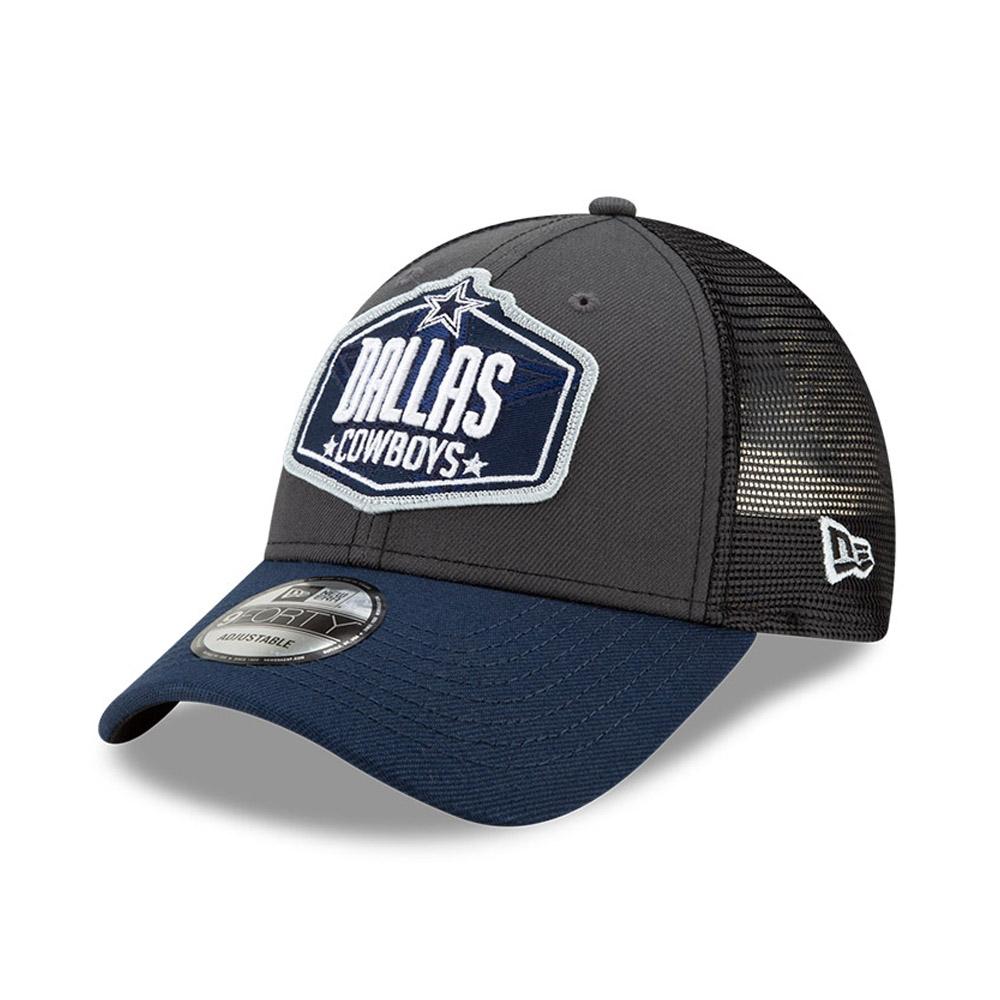 Cappellino 9FORTY NFL Draft Dallas Cowboys grigio