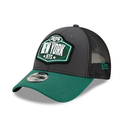 New York Jets NFL Draft Grey 9FORTY Cap