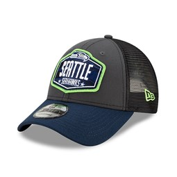 Cappellino 9FORTY NFL Draft Seattle Seahawks grigio