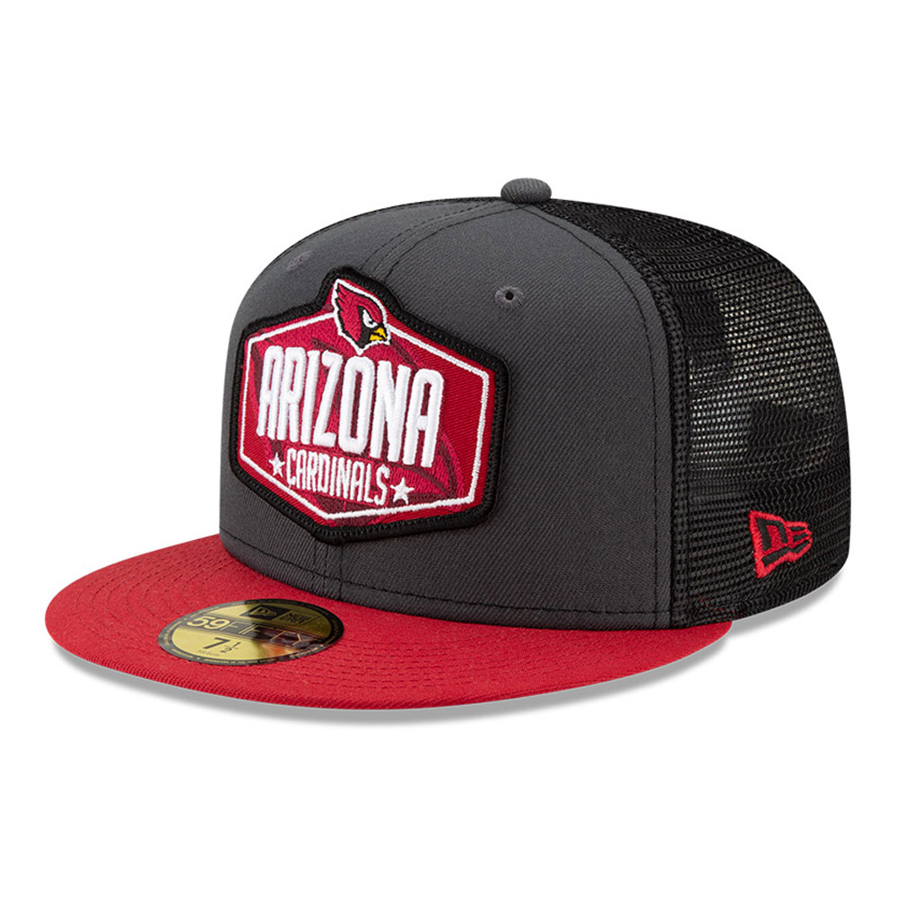 Cappellino 59FIFTY NFL Draft Arizona Cardinals grigio