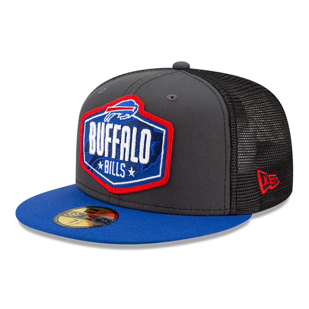 Casquette59FIFTY NFLDraft des Buffalo Bills, gris