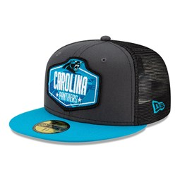 Carolina Panthers NFL Draft Grey 59FIFTY Cap