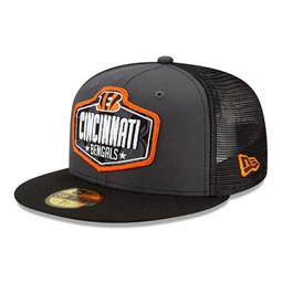 Cincinatti Bengals NFL Draft Grey 59FIFTY Cap