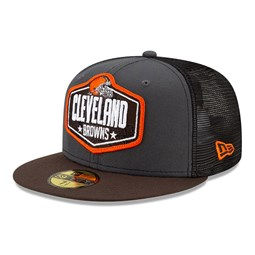 Cleveland Browns NFL Draft Grey 59FIFTY Cap