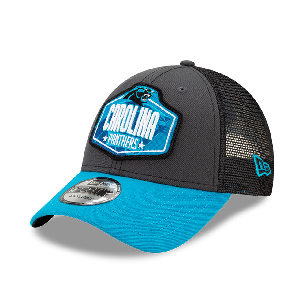 Cappellino 9FORTY NFL Draft Carolina Panthers grigio
