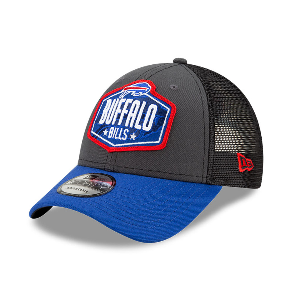 Casquette 9FORTY NFL Draft des Buffalo Bills, gris