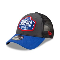 Cappellino 9FORTY NFL Draft Buffalo Bills grigio