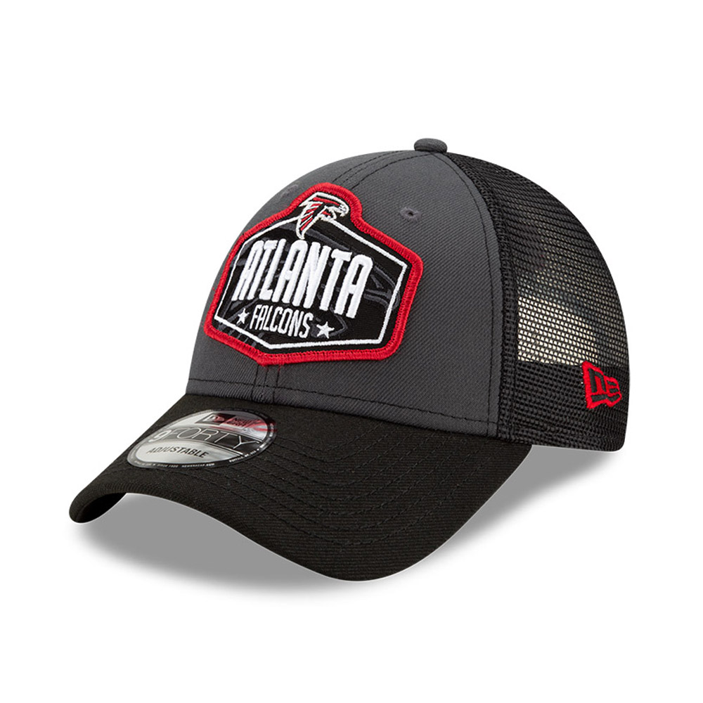 Casquette 9FORTY NFL Draft des Atlanta Falcons, gris