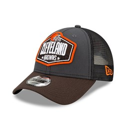 Casquette 9FORTY Cleveland Browns NFL Draft, gris